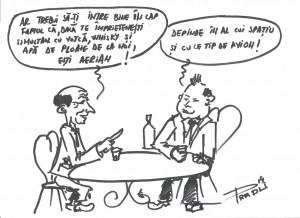 Caricatura saptamanii